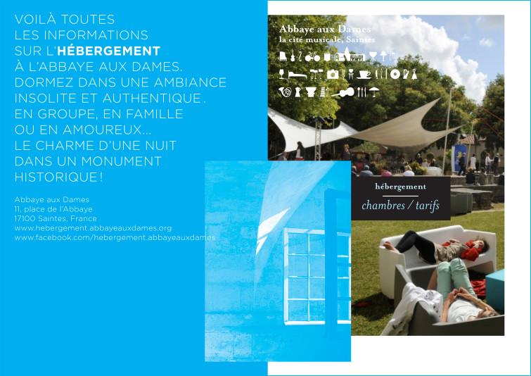 Uli Meisenheimer- Charte graphique complète pour  La cité musicale, Saintes 2014