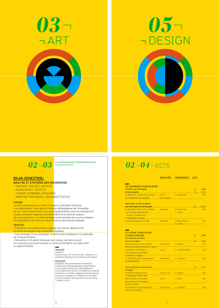Uli Meisenheimer- École nationale supérieure d'art Limoges-Identité visuelle-2011-2015