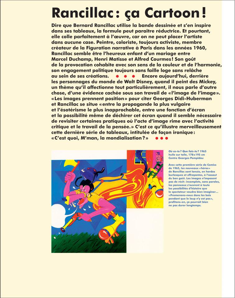 Uli-Meisenheimer-Bernard Rancillac-graphisme d