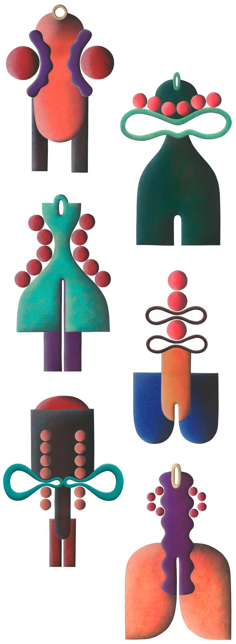 Uli Meisenheimer-Das-männlich-weiblich-Phaenomen-Idée, textes et illustrations- diplôme Folkwangschule Essen 1994